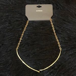Express Jewelry - Express Gold Statement Necklace